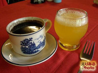 コーヒーとジュース@PANDAN GARDEN RESTO