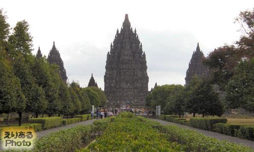世界文化遺産「プランバナン」~ロロ・ジョングラン寺院
