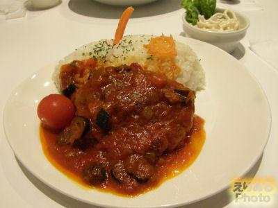 シャア・アズナブルのパイロットランチ@GUNDAM Cafe(ガンダムカフェ) 東京駅店