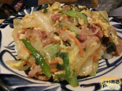 沖縄チャンポン@沖縄家庭料理 琉球市場 やちむん